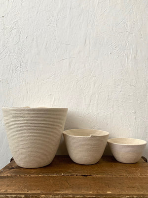 White Bowl Home Set