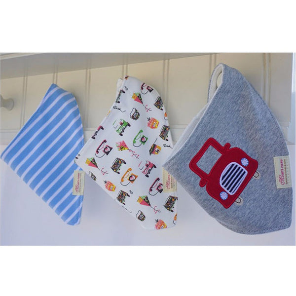 3 Pcs/Lot 100% Cotton Baby Bibs