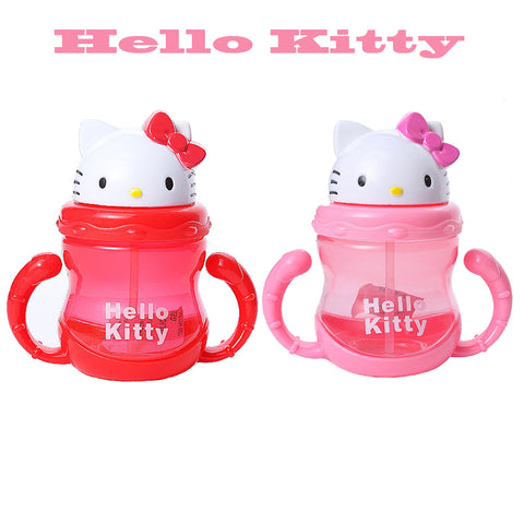 Hello Kitty Sippie Cup With Straw
