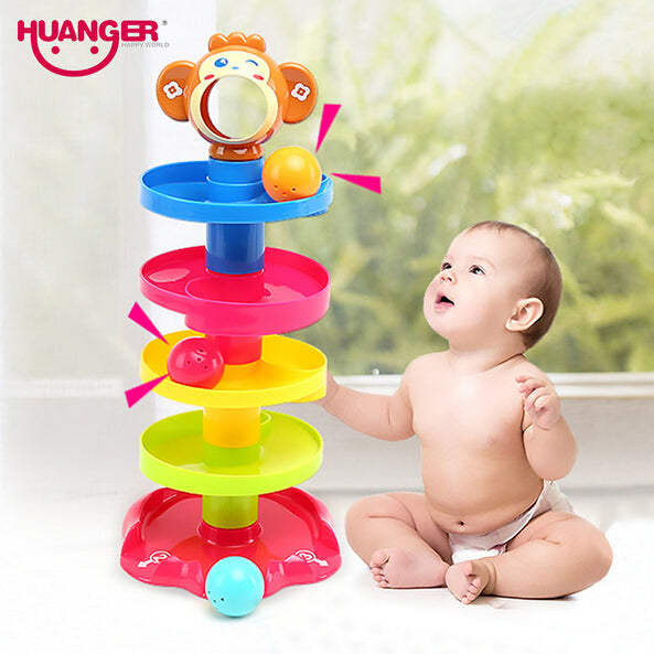0-24m Tower Rolling Ball Toy