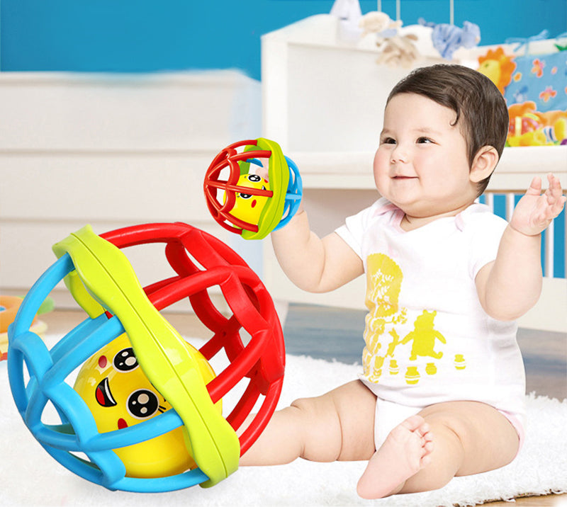 0-12m Ball Rattle - Develop Baby Intelligence / Hand Grasping