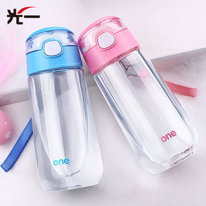 Toddler 500ML Water Bottle With Straw