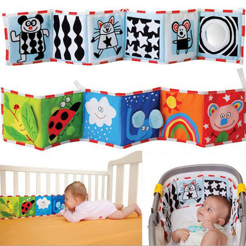 Cloth Book Crib Bumper