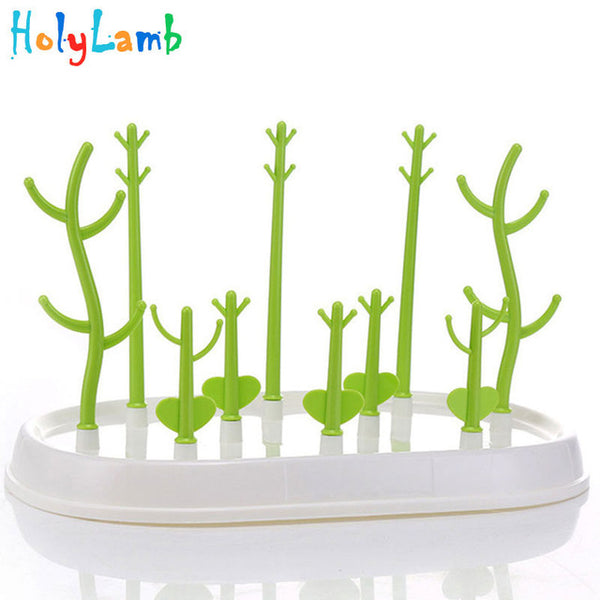 Tree Shape Baby Bottle Drying Rack