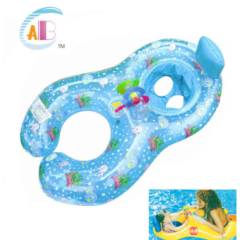 Mother And Child Baby Seat Float Ring