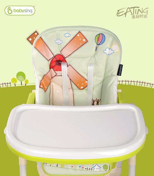 Baby Delux Multifunction Highchair / Collapsible Dinner Chair
