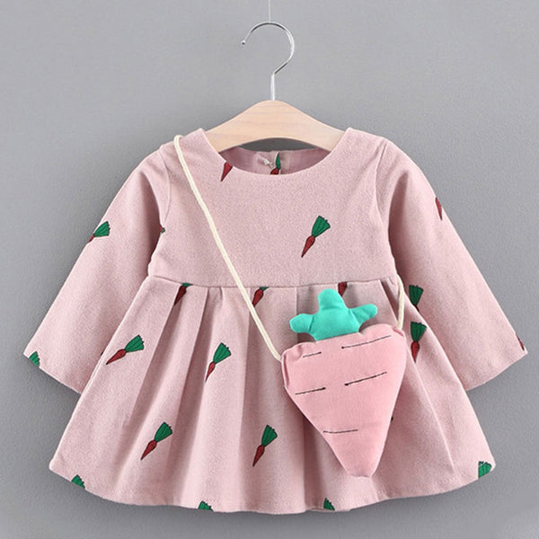 6M-24M Girls Fashion Dresses