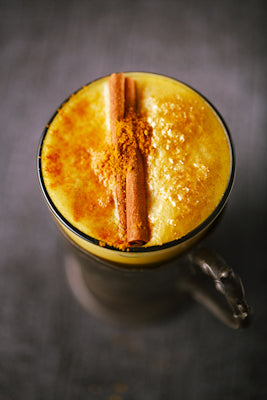 golden milk, anti-inflamatory ginger latte