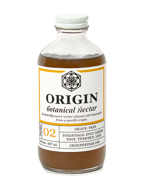 Origin-Botanical-Nectar-Peru-Ginger-Cocktail-Mocktail-Syrup-Mixer