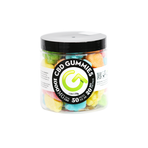 GOOD CBD Gummy Bear Jar 50ct