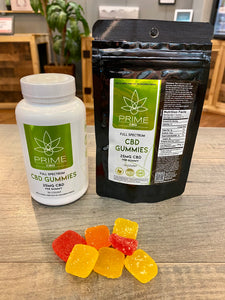 Prime CBD Full Spectrum Vegan Gummies 25mg