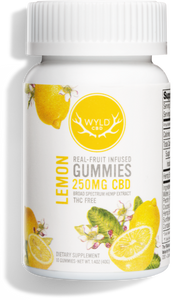 Wyld CBD Real-Fruit Infused Gummies 25mg