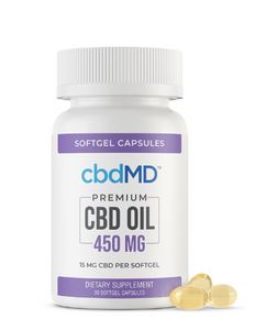 cbdMD CBD Oil Softgel Capsules