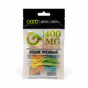 Sour Worms 400mg