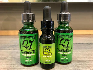 Quiet Trees CBD:CBG Broad Spectrum Endocanna Oil