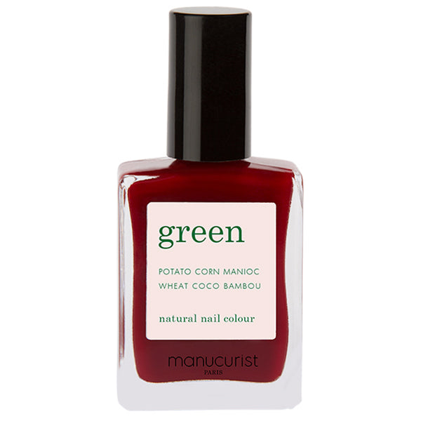 Manucurist Paris Green Dark Pansy Natural Nail Colour 15 ml