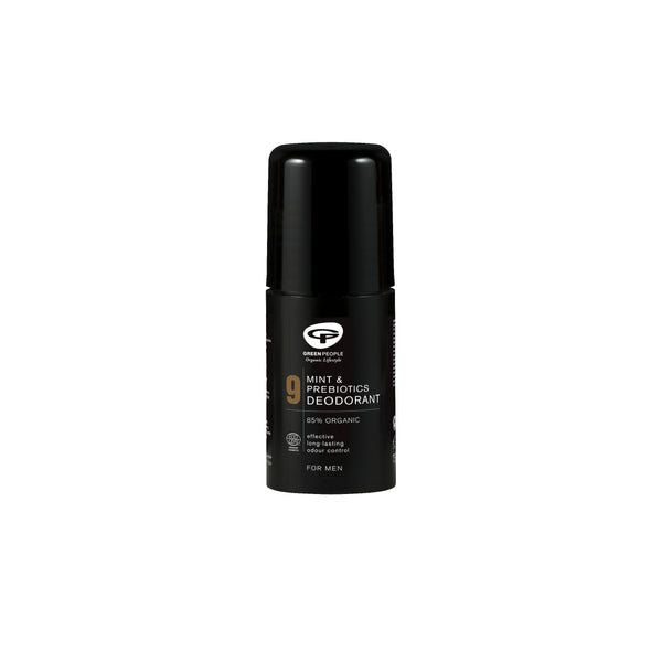 Green People Men's Care No. 9 Mint & Prebiotics Deodorant 75 ml