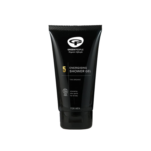 Green People Men's Care No.5 Energising Shower Gel 150 ml