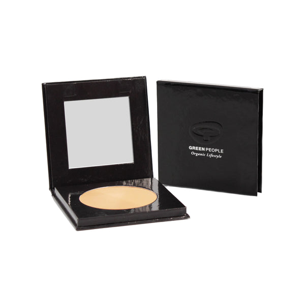 Green People Pressed Mineral Powder SPF15 - Caramel Light