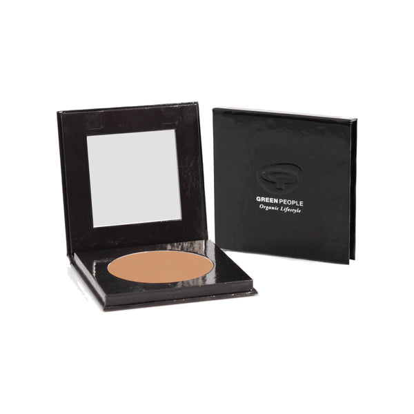 Green People Pressed Mineral Powder SPF15 - Caramel Medium