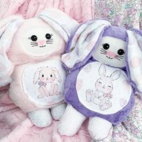 Mama bunny cutieloo in Purple fur
