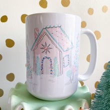Load image into Gallery viewer, Gingerbread House Mug