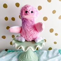 Baby duck in Pink and purple sorbet