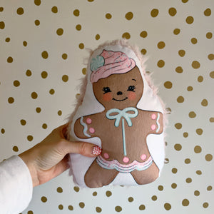 Gingerbread Shaped Pillow