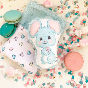XO Mouse in Sleeping Bag