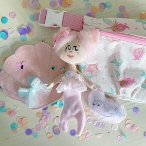 Mermaid Artist Doll