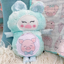 Load image into Gallery viewer, Mint Blue Pig Cutieloo