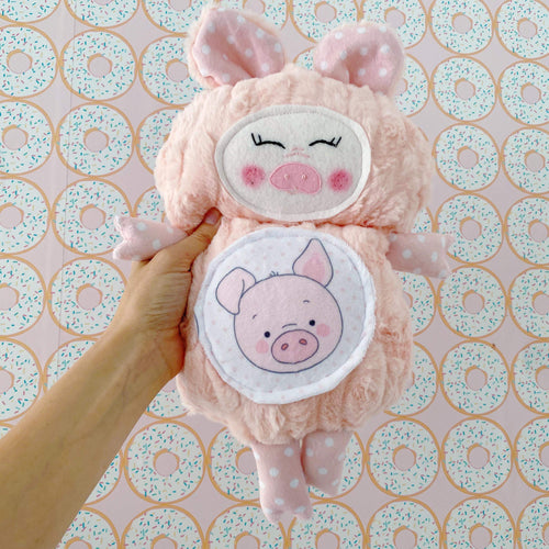 Peach Pig Cutieloo
