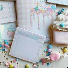 Load image into Gallery viewer, Celebrate Cake Stationary Set