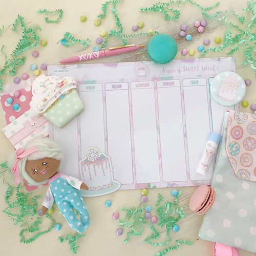 8x12 Weekly Planner Dry Erase Board