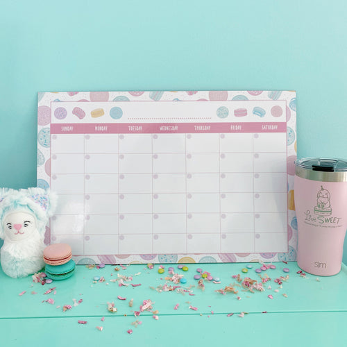 12x18 Monthly Calendar Dry Erase Board