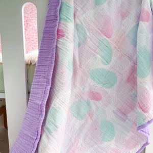 Toddler Pastel Gauze Blanket