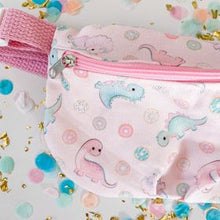 Load image into Gallery viewer, Pink Dino Fanny Pack