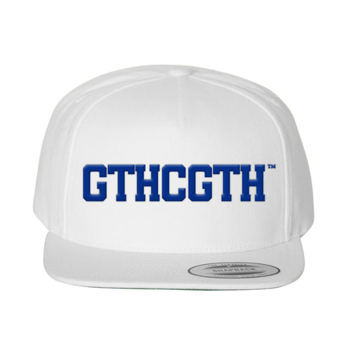 GTHCGTH Snapback Hat - White