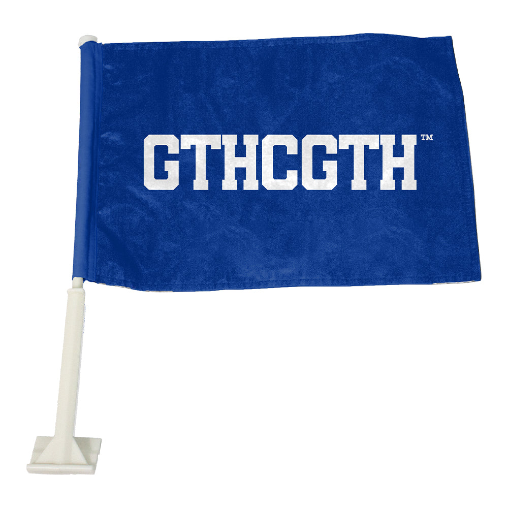 GTHCGTH Car Flag - Blue