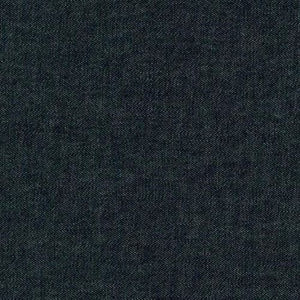 Robert Kaufman Washed Denim 8 oz - Black - 1/2 meter