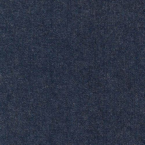 Robert Kaufman Washed Denim 8 oz - Indigo - 1/2 metre