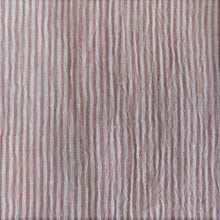 Load image into Gallery viewer, Striped Washed Linen - Blush/Ivory - 1/2 metre