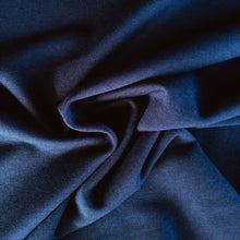 Load image into Gallery viewer, Bamboo Fleece - Navy - 1/2 metre