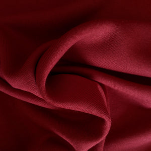 Bamboo Fleece - Ox Blood - 1/2 meter