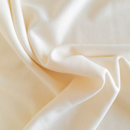 Bamboo Fleece - Ivory - 1/2 metre