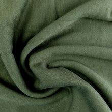 Load image into Gallery viewer, Bamboo Fleece - Military - 1/2 metre