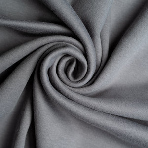 Organic Cotton Jersey - Grey - 1/2 meter