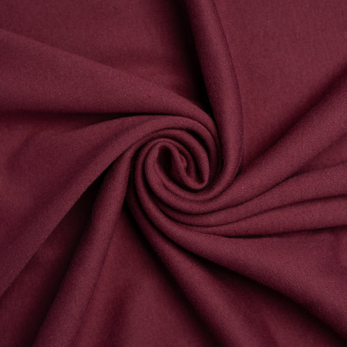 Organic Cotton Jersey - Mulberry - 1/2 meter