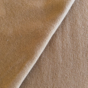 Boiled Wool - Camel - 1/2 metre