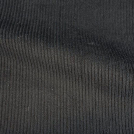 Stretch Corduroy - Charcoal - 1/2 metre